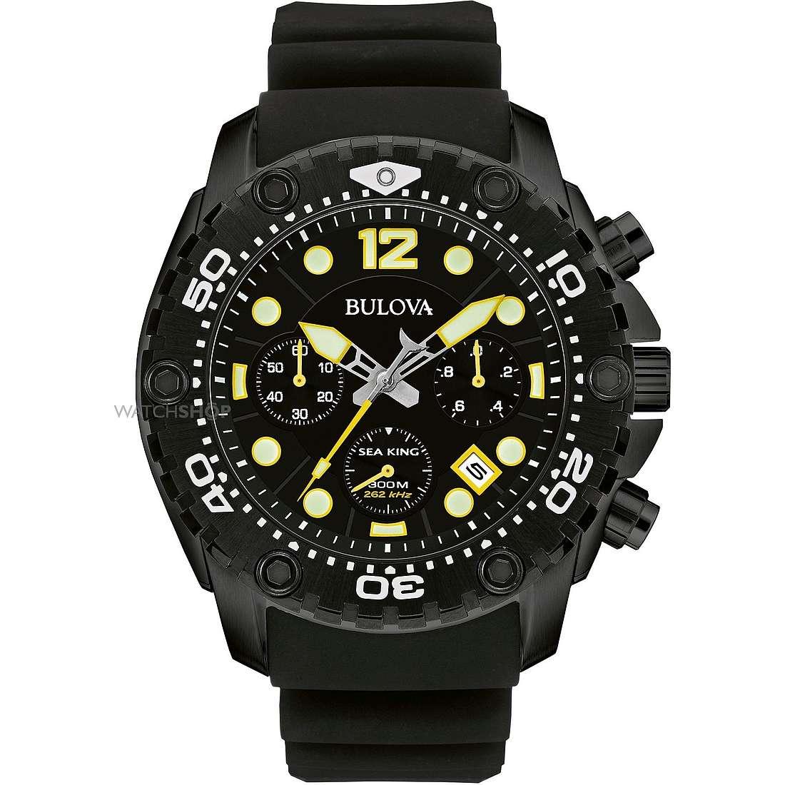 montre chronographe homme Bulova Sea King 98B243