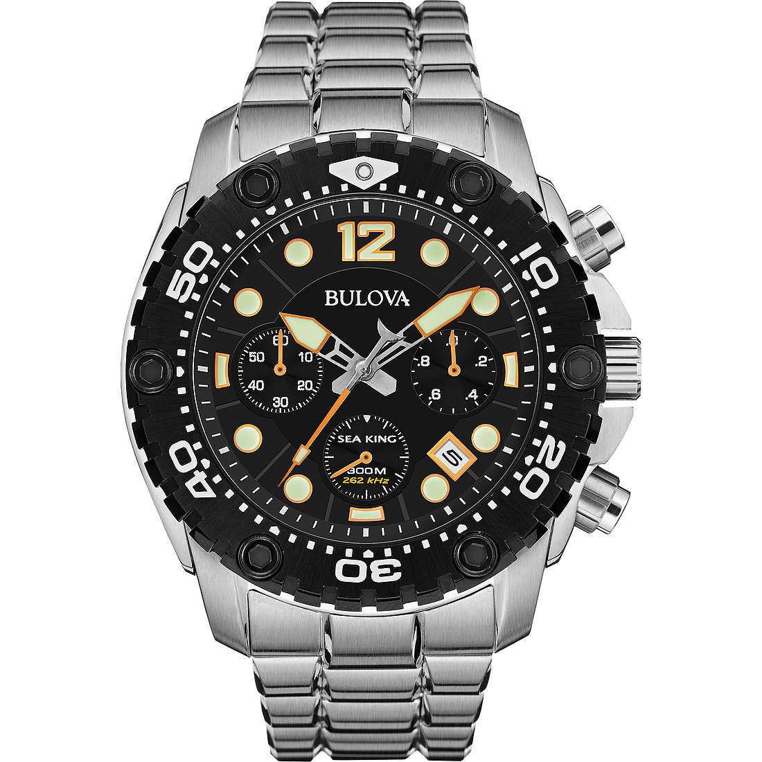 montre chronographe homme Bulova Sea King 98B244