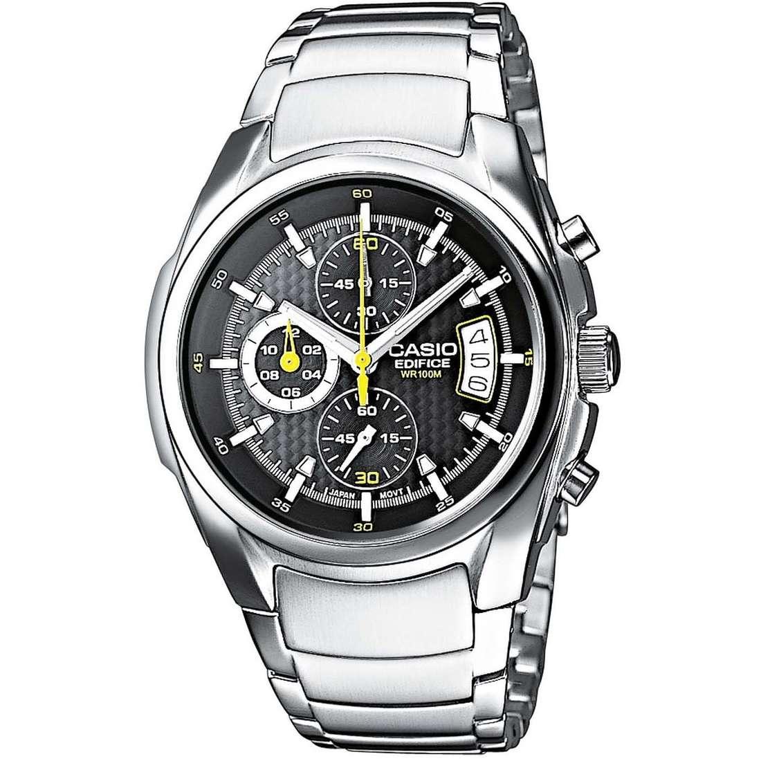 montre chronographe homme Casio EDIFICE EF-512D-1AVEF