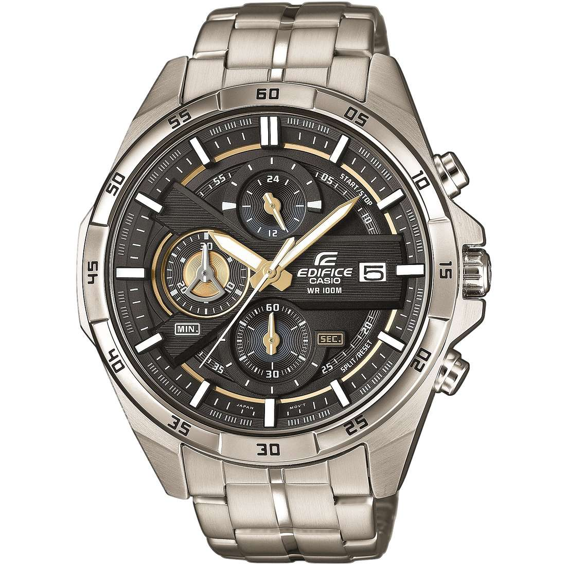 montre chronographe homme casio edifice efr 556d 1avuef chronographes casio. Black Bedroom Furniture Sets. Home Design Ideas
