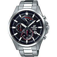 montre chronographe homme Casio Edifice EFV-530D-1AVUEF