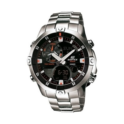montre chronographe homme Casio EDIFICE EMA-100D-1A1VEF