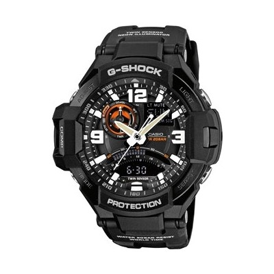 montre chronographe homme Casio EDIFICE GA-1000-1AER