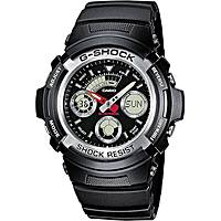 montre chronographe homme Casio G-Shock AW-590-1AER