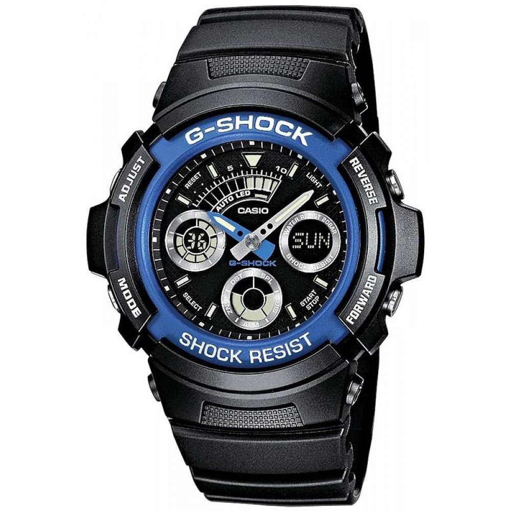 montre chronographe homme Casio G-Shock AW-591-2AER