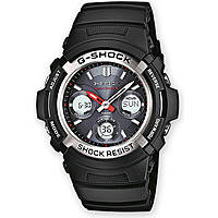 montre chronographe homme Casio G-SHOCK AWG-M100-1AER