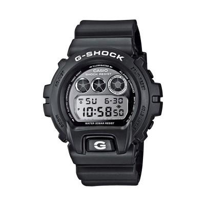 montre chronographe homme Casio G-SHOCK DW-6900BW-1ER