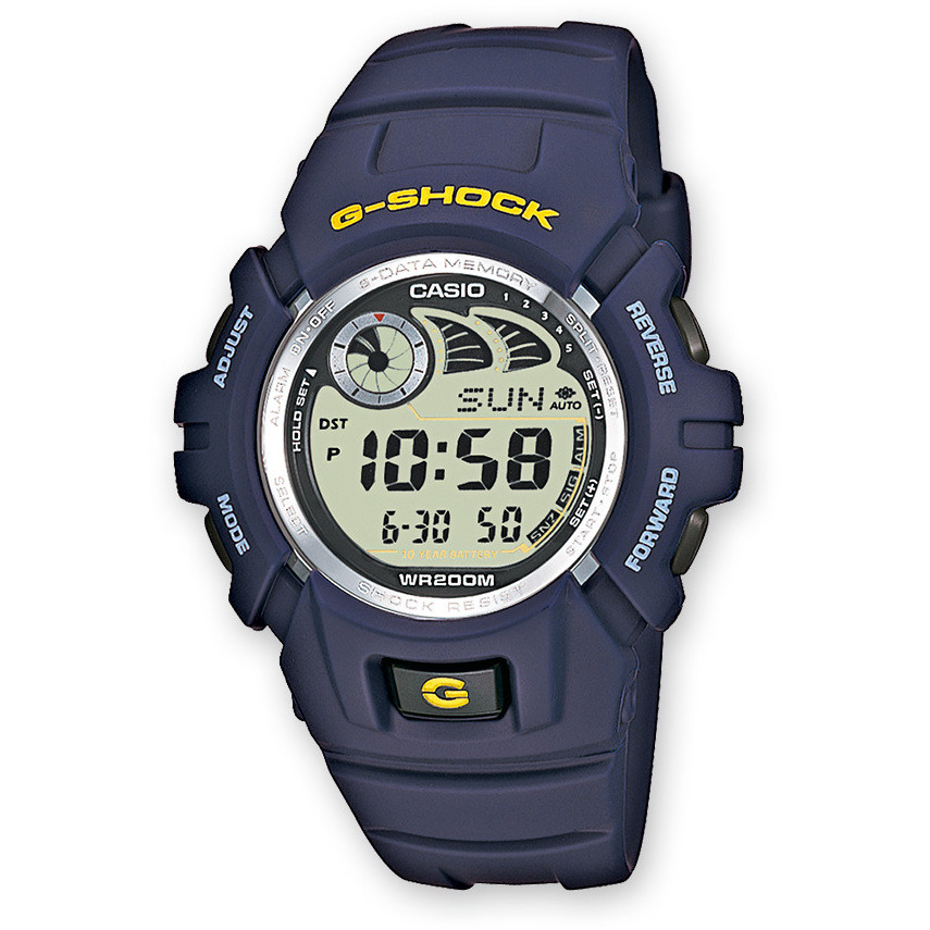 montre chronographe homme Casio G-SHOCK G-2900F-2VER