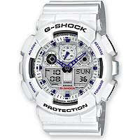 montre chronographe homme Casio G-Shock GA-100A-7AER