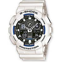 montre chronographe homme Casio G-SHOCK GA-100B-7AER