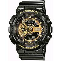 montre chronographe homme Casio G-Shock GA-110GB-1AER