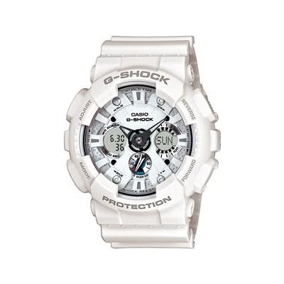 montre chronographe homme Casio G-SHOCK GA-120A-7AER