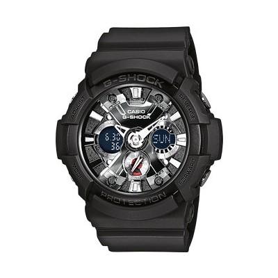 montre chronographe homme Casio G-SHOCK GA-201-1AER