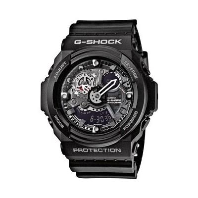 montre chronographe homme Casio G-SHOCK GA-300-1AER