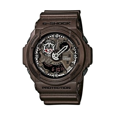 montre chronographe homme Casio G-SHOCK GA-300A-5AER