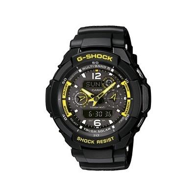 montre chronographe homme Casio G-SHOCK GW-3500B-1AER