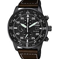 montre chronographe homme Citizen Aviator CA0695-17E