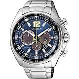 montre chronographe homme Citizen Chrono Racing CA4198-87L