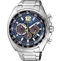 montre chronographe homme Citizen Chrono Racing CA4198-87L