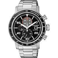 montre chronographe homme Citizen Chrono Sport CA0641-83E