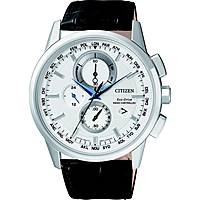 montre chronographe homme Citizen Eco-Drive AT8110-11A