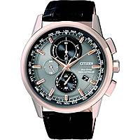 montre chronographe homme Citizen Eco-Drive AT8113-12H