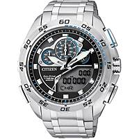 montre chronographe homme Citizen Eco-Drive JW0120-54E
