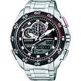 montre chronographe homme Citizen Eco-Drive JW0124-53E