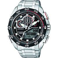 montre chronographe homme Citizen Eco-Drive JW0124-53E