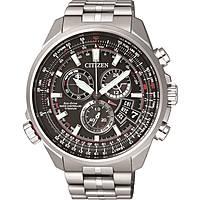 montre chronographe homme Citizen Pilot BY0120-54E