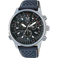 montre chronographe homme Citizen Radio Controllati AS4020-36E