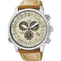 montre chronographe homme Citizen Radio Controllati AS4020-44B