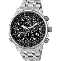 montre chronographe homme Citizen Radio Controllati AS4050-51E