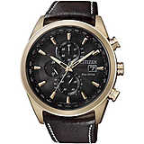 montre chronographe homme Citizen Radio Controllati AT8019-02W