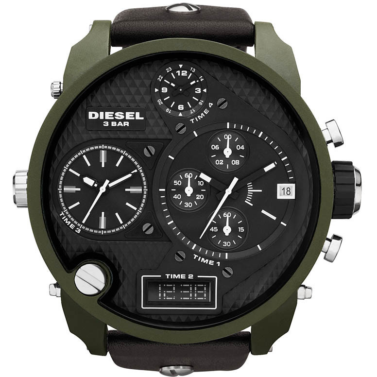 montre chronographe homme Diesel DZ7250