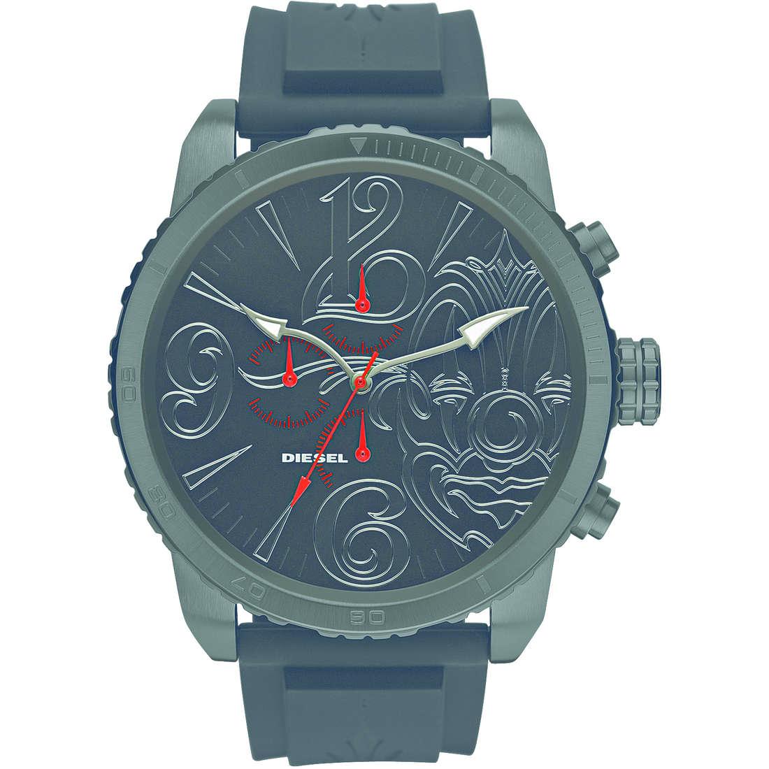 montre chronographe homme Diesel DZMC0001