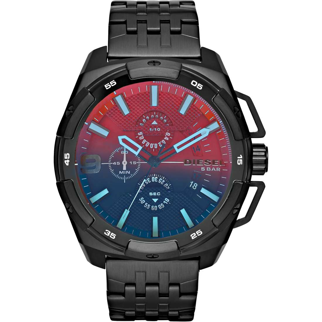 montre chronographe homme Diesel Heavyweight DZ4395
