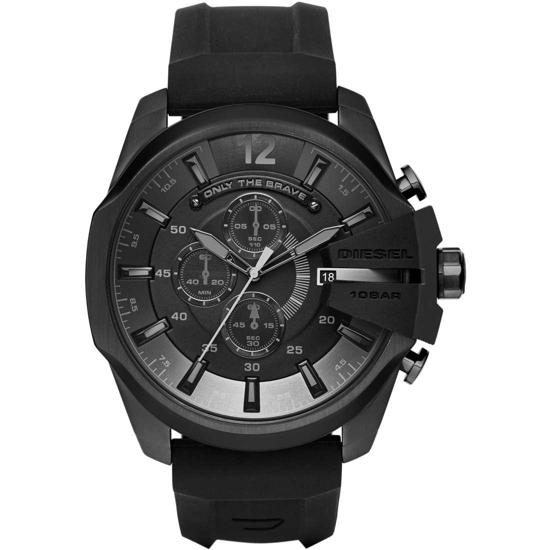 montre chronographe homme Diesel Mega Chief DZ4378
