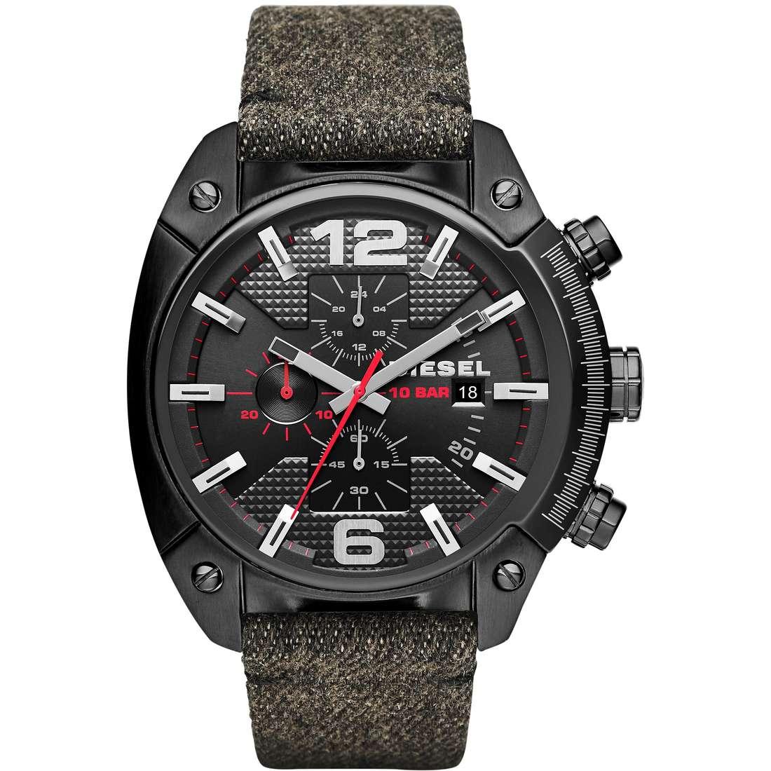 montre chronographe homme Diesel Overflow DZ4373