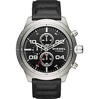 montre chronographe homme Diesel Padlock DZ4439