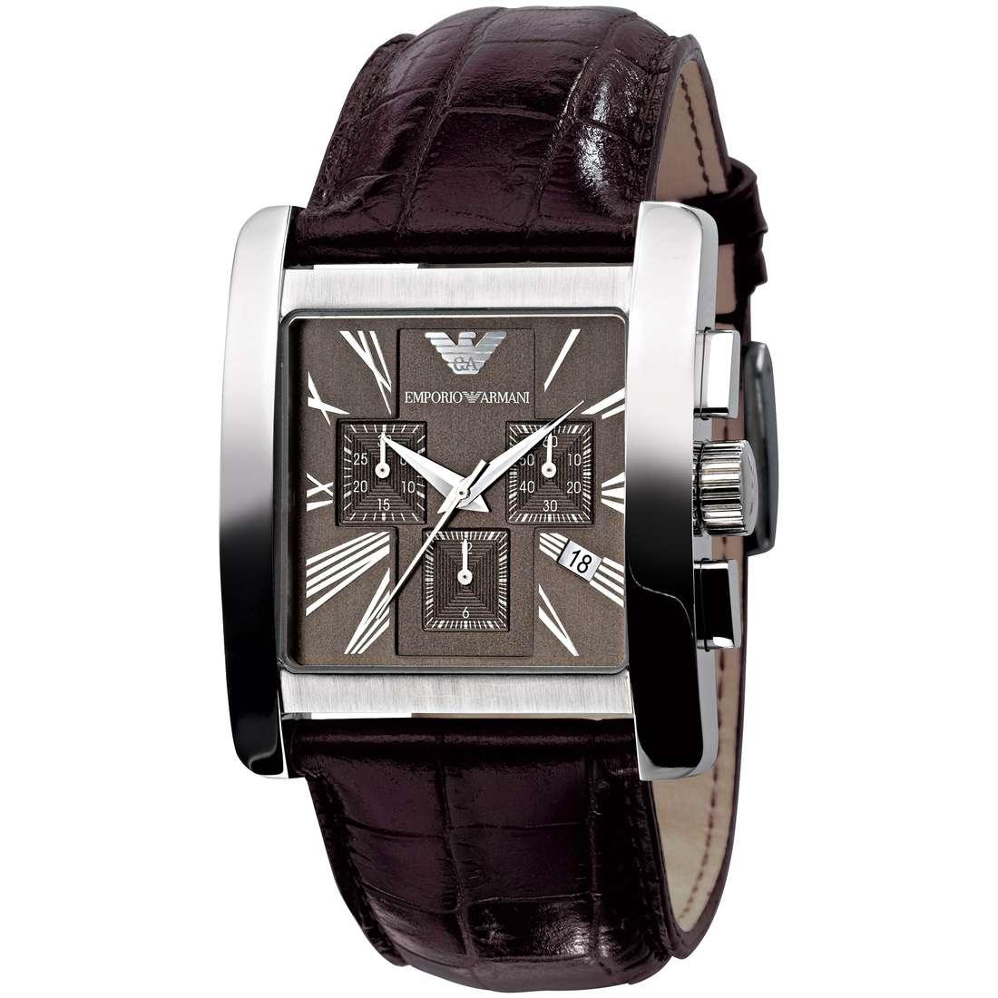 montre chronographe homme Emporio Armani AR0185