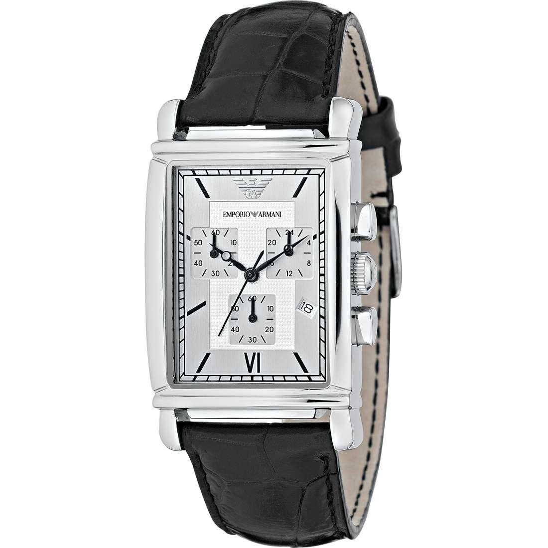 montre chronographe homme Emporio Armani AR0284