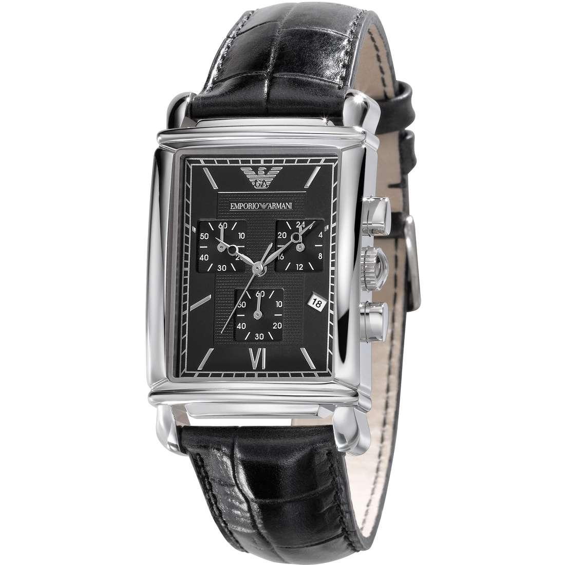 montre chronographe homme Emporio Armani AR0292