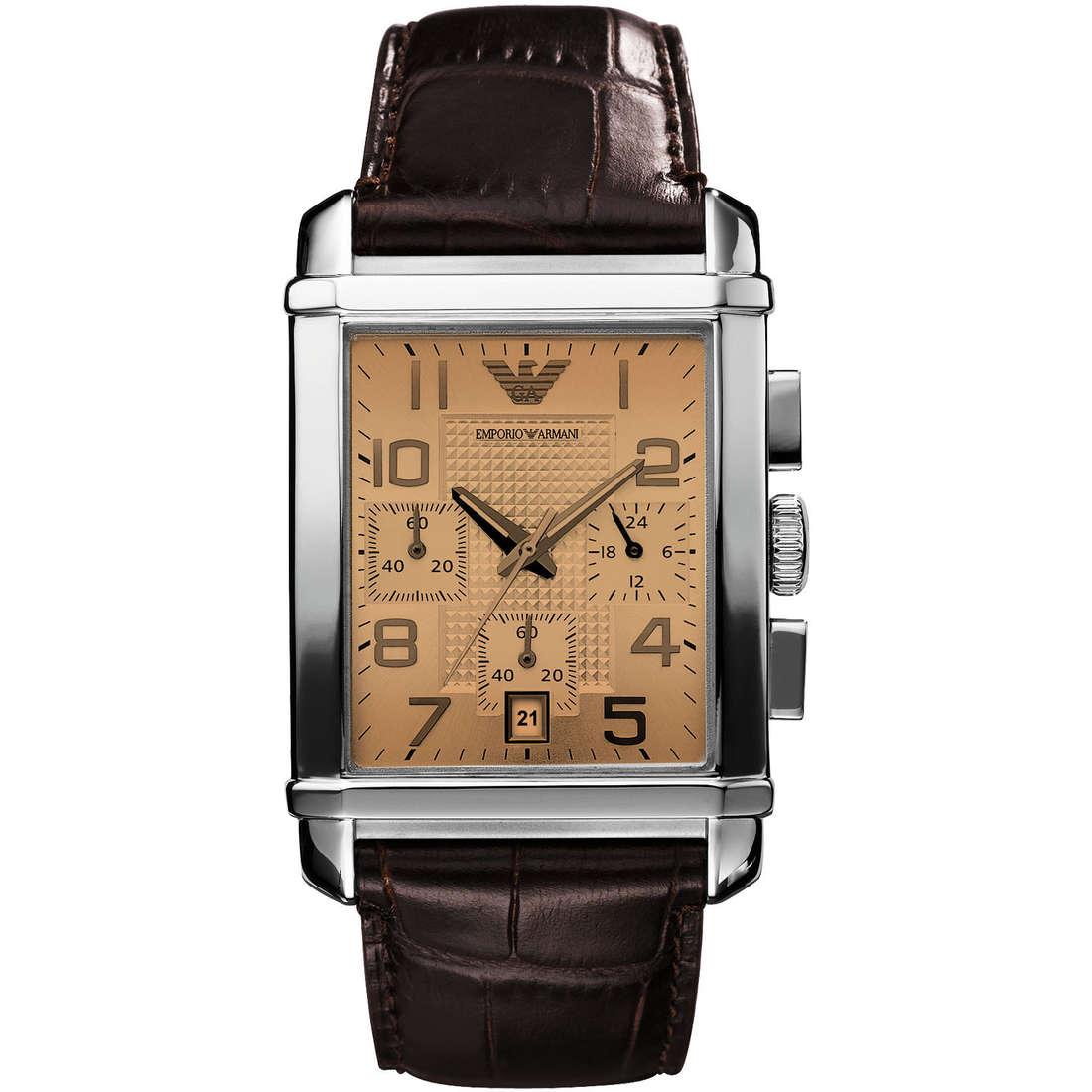 montre chronographe homme Emporio Armani AR0337