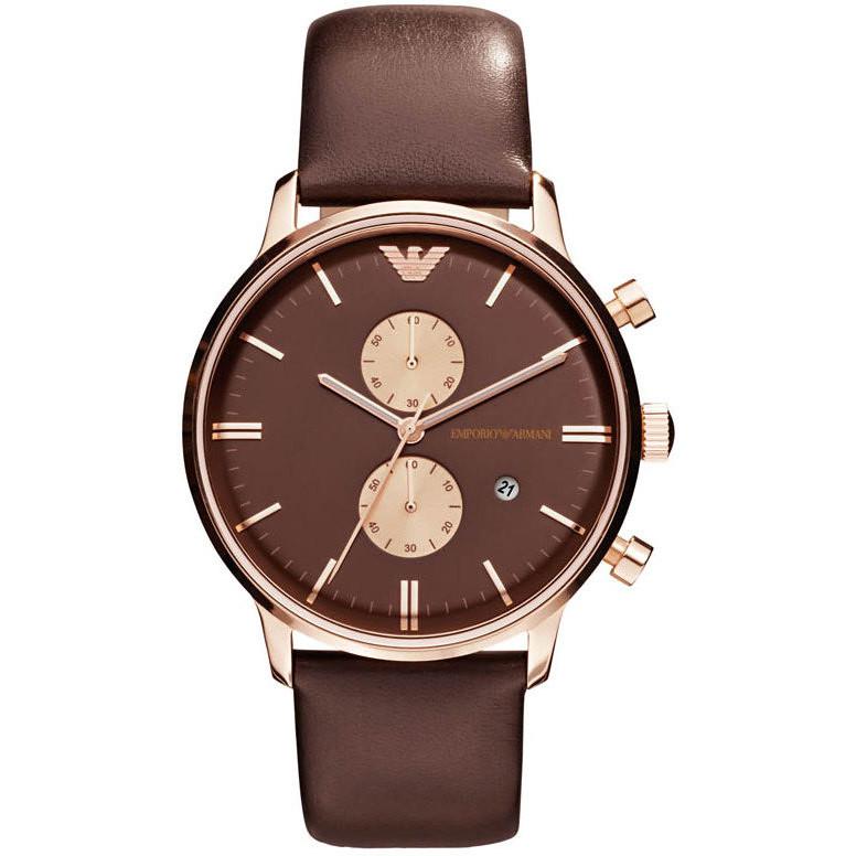 montre chronographe homme Emporio Armani AR0387