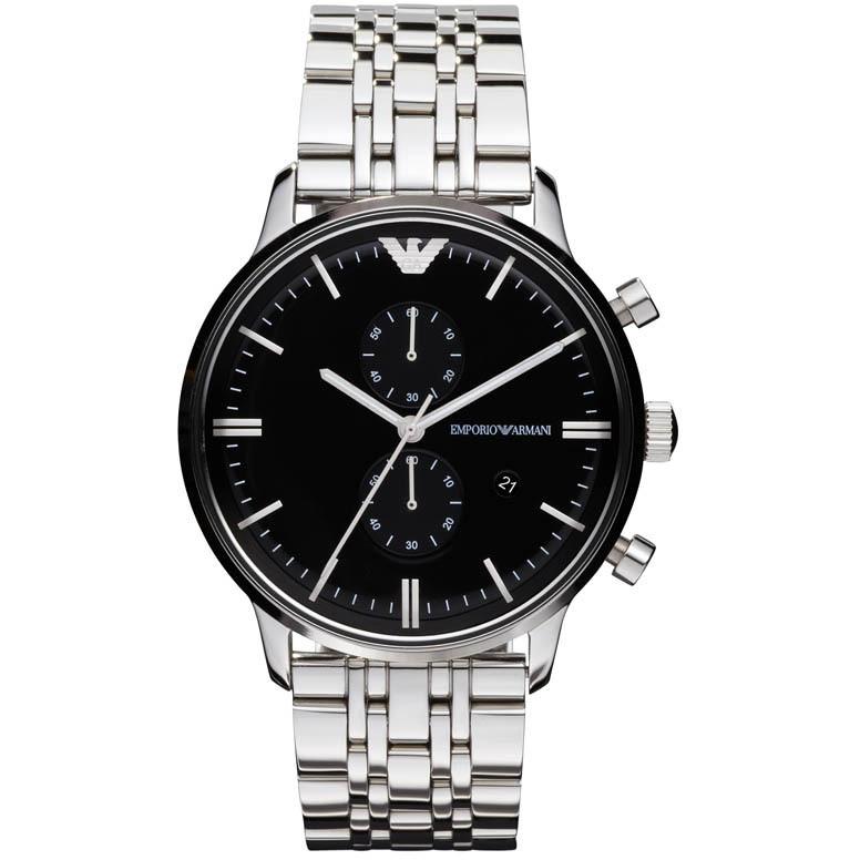 montre chronographe homme Emporio Armani AR0389