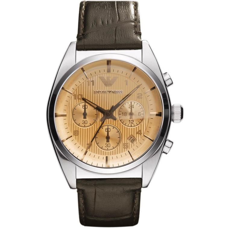 montre chronographe homme Emporio Armani AR0395