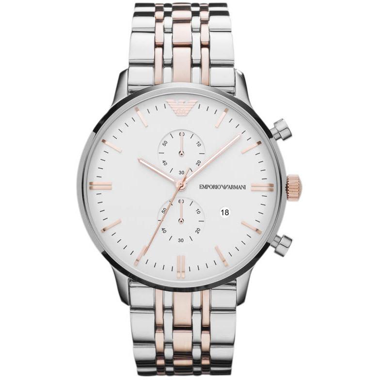 montre chronographe homme Emporio Armani AR0399