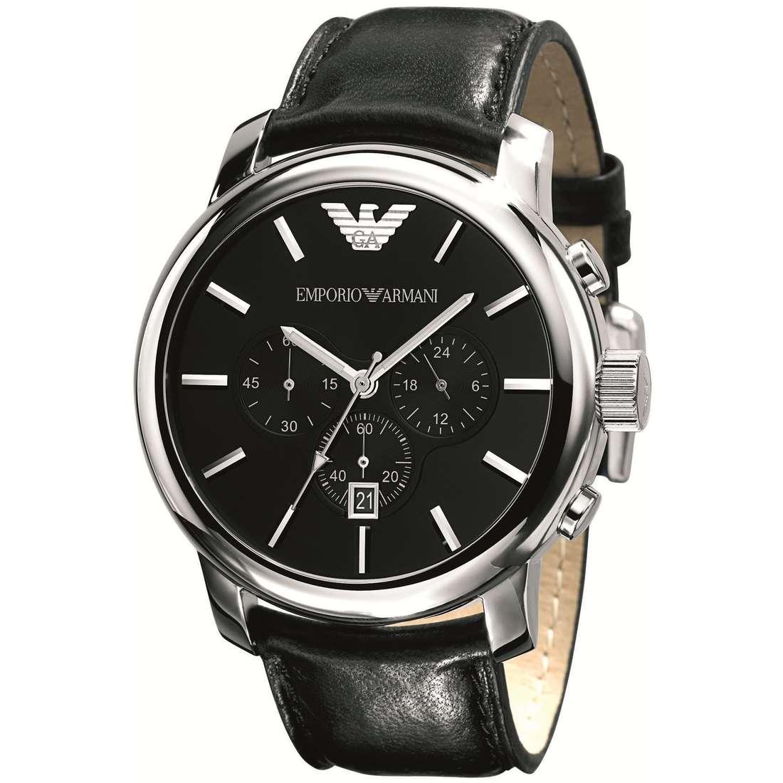 montre chronographe homme Emporio Armani AR0431