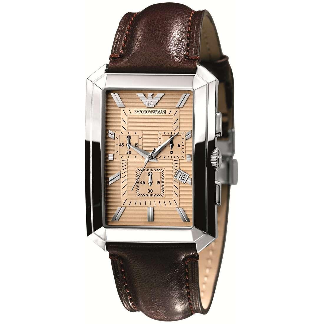 montre chronographe homme Emporio Armani AR0473
